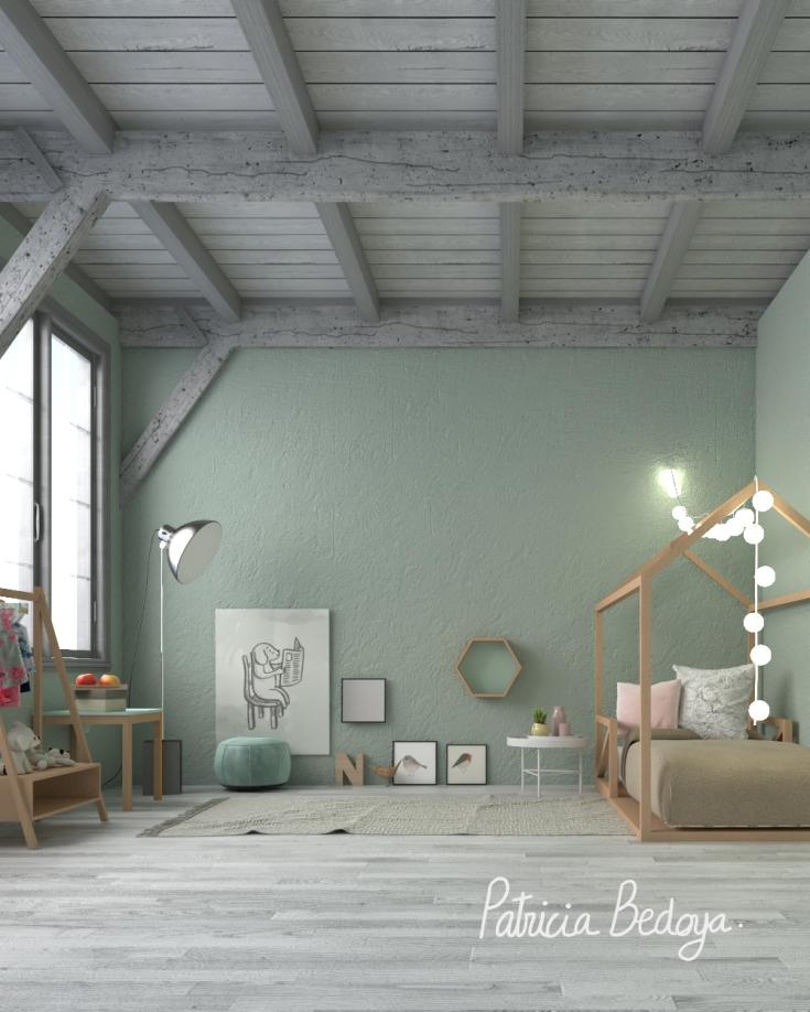 Como decorar la habitacion de tu hijo hija segun el metodo Montessori